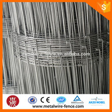 Factory price low carbon steel wire woven cattle wire mesh fence