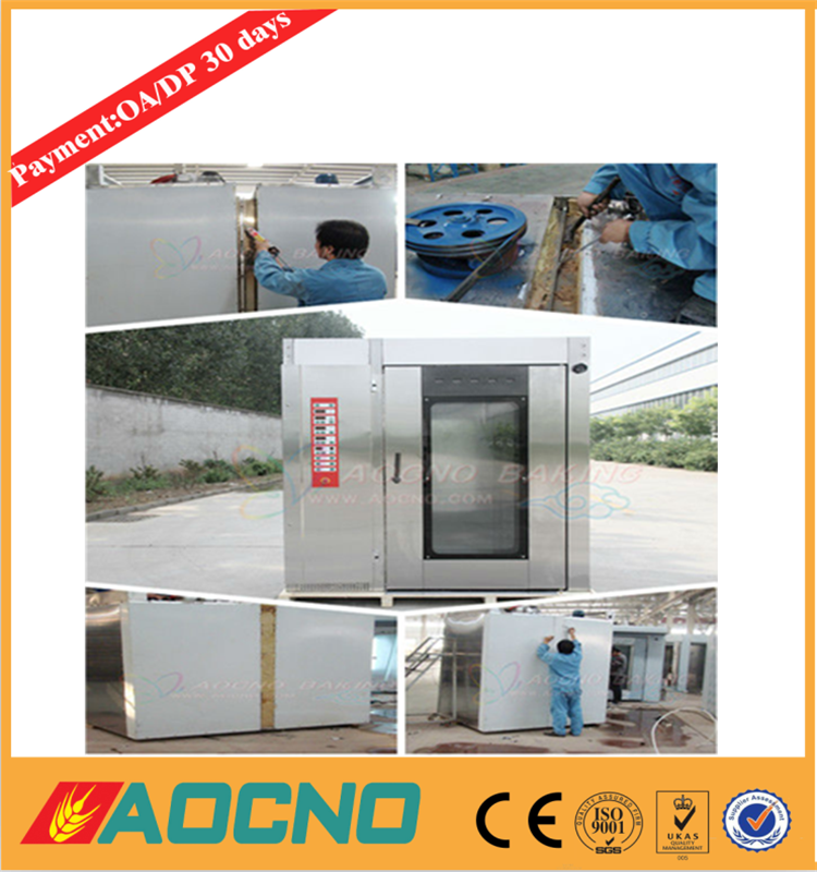 aocno Roating bakery ovens for cake, bread, cookies, loaf, baguette, croissant baking