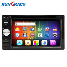 HuiZhou manufacturer 6.2 inch double din android 6.0 car gps navigation system with Rear view video