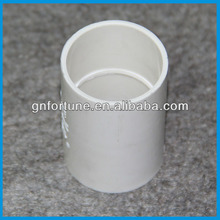 White Rigid Electric PVC Straight Coupling