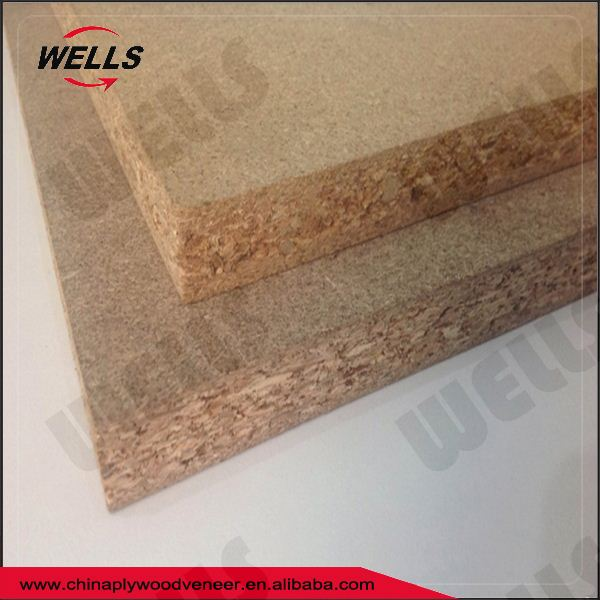 Cheap OSB Board 9mm Colorful Melamine Laminated Particle Board in Hot Sale