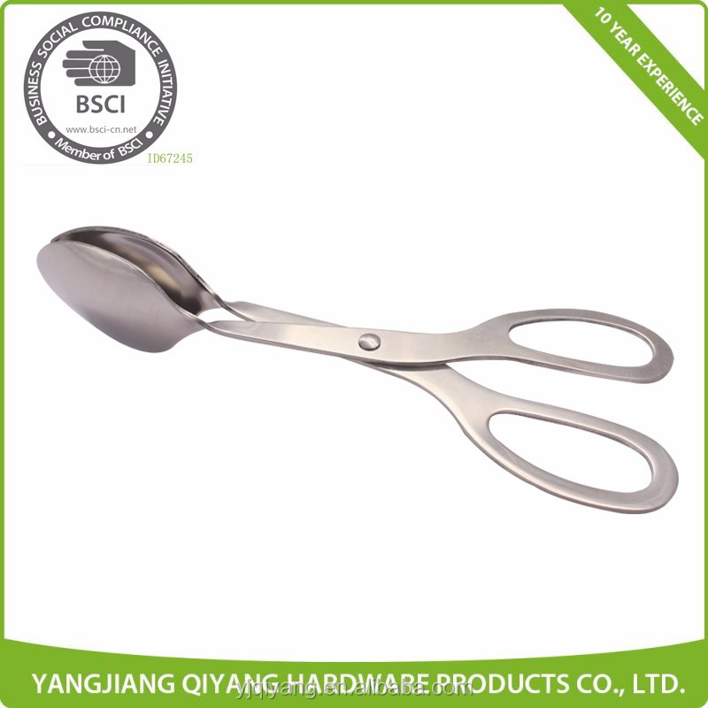 Professional Cooking Tools Stainless Steel Kitchen Tongs