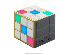 Promotion/wholesale/retail LED magic cube speaker portable wireless bluetooth speaker NSP-8117