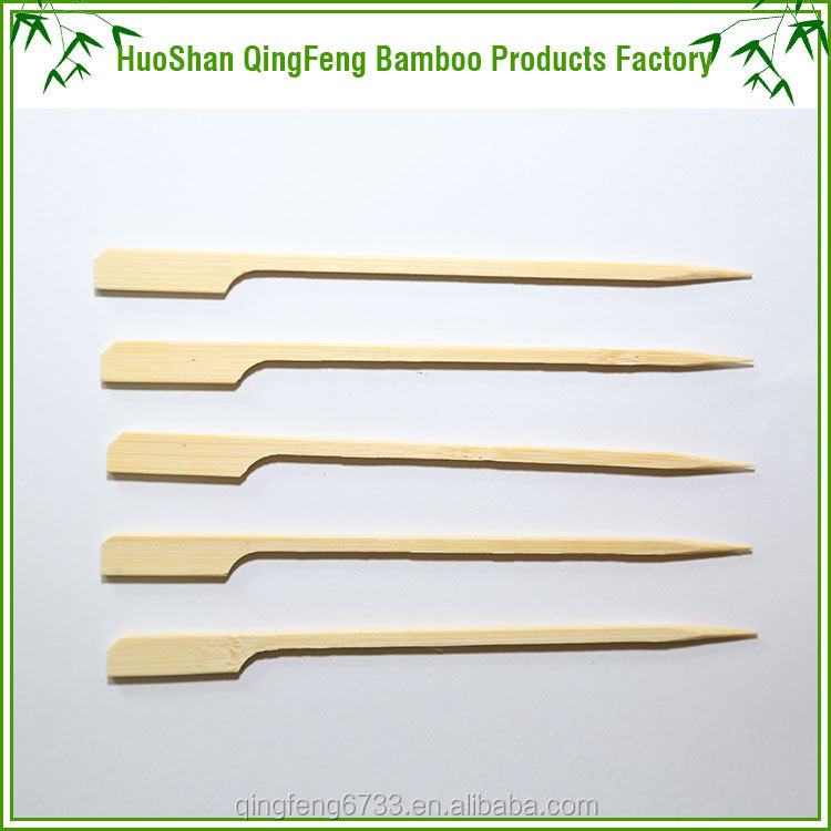 Wholesale all size and packing natural bamboo skewer gun skewer
