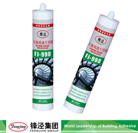 Fast dry acetic silicone sealant for doors and windows installation