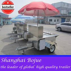 2015 hot sales best quality pizza hot dog cart new hot dog cart chinese hot dog cart