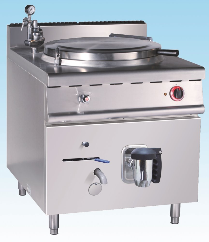 Kitchen Equipment Commercial Stainless Steel Electric Indirect Jacketed Boiling Pan