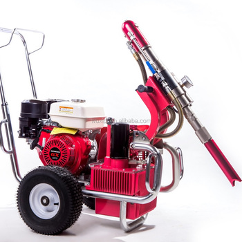 Hydraulic Pump Airless paint sprayer with guns and tips Hydraulic Pump