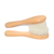 100% Nature  Wood baby hair brush goat hair baby brush Comb Set Shampoo Bath