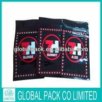Wholesale 6 flavors top open 7H herbal incense bag