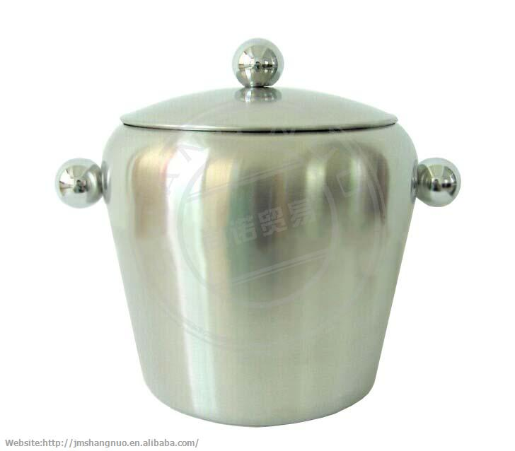 2L beer ice bucket with cover