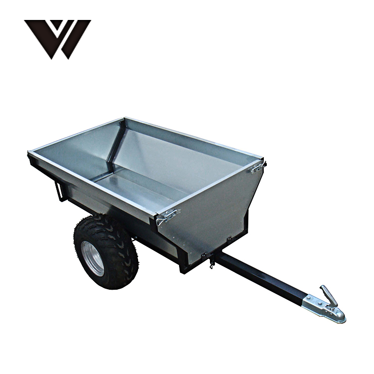 2018 New WELDON High Quality Small Multipurpose Heavy Duty Tipping Truck Trailer