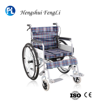 wheelchair manual folding wheel chair for people with disabilities factory price