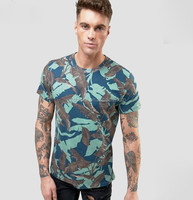 2017 Guangzhou full print t shirt camo all over sublimation printing t shirt men cheap custom printed t shirts for summer