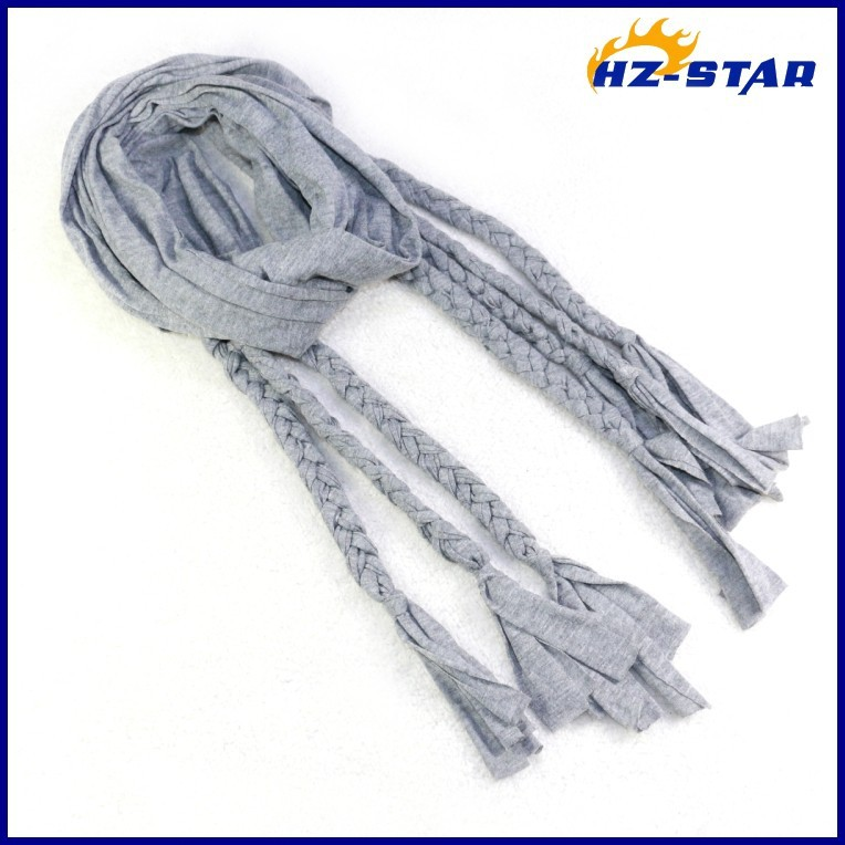 HZW-13665004 Wholesale single with pigtail hot Best sell women fashion new design hijab arabic muslim long scarf hijab