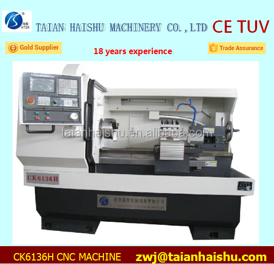 CK6136H High-profile CNC lathes With Chip Conveyor and Fanu Controller