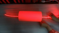 New products LED light tube red