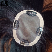 In stock brazilian virgin hair natural color cheap human hair toupee for black women/men