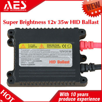 Factory Car Headlight HID xenon ballast 35w slim ac ballast