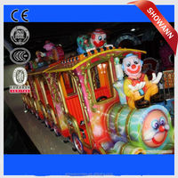 kids tourism electric cartoon animal train electric train for kids park