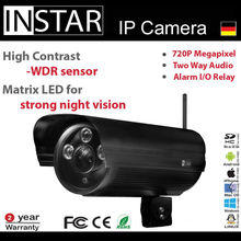 German Brand HD P2P wifi IP camera with sd card