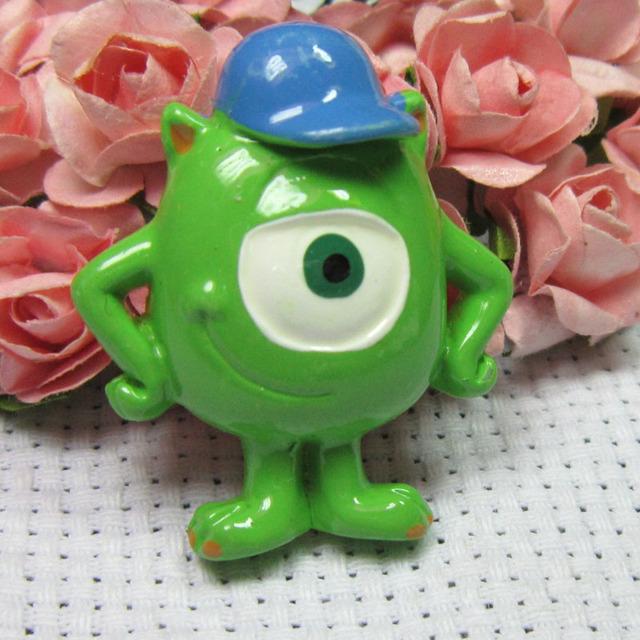 Creation cute resin cartoon Monster university big eyes fridge magnet