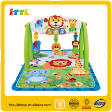 Good quality Cheap price plastic animal lion gym toy for promotion
