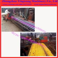 Copper aluminum Round hollow steel tube pipe straightener machine