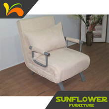 Adjustable folding furniture household single folding bed recliner chair bed