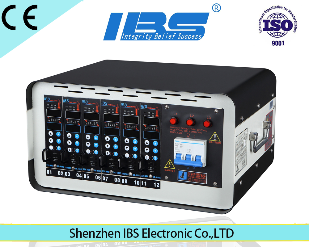 Shenzhen oulet 12 zones PID fuzzy logic temperature controller for plastic injection mold