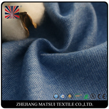 China suppliers organic cotton linen flax man denim fabric for jacket