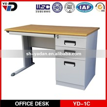 office table office desk 2014 new fashion simple modern in melamine board from china foshan for Malaysia market