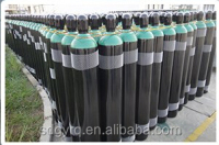 2015 hot sale exported 40L new empty seamless steel oxygen gas cylinder reasonable price