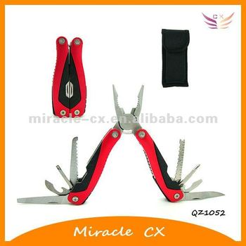 Combination hardware plier hand tool
