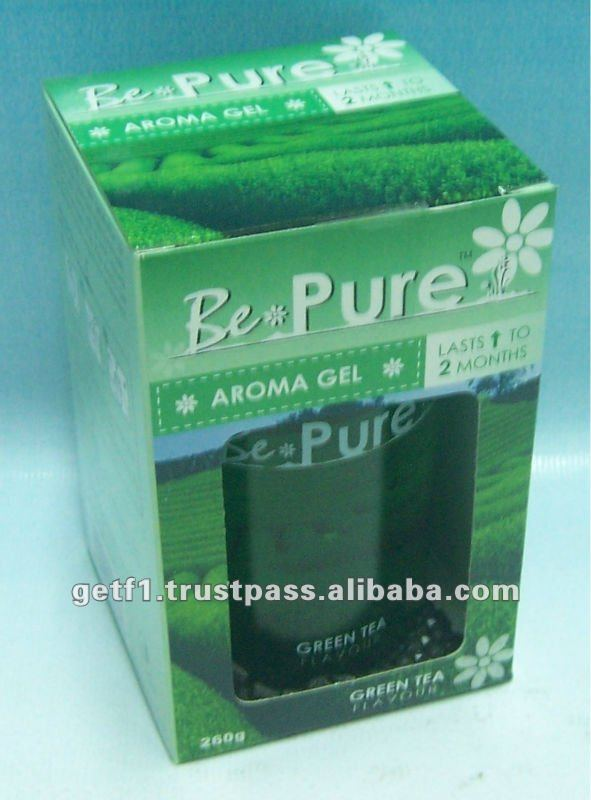 Aroma Gel Green Tea 260g - BE PURE