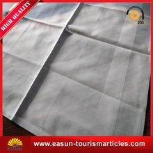 High quality linen wholesale airplane napkin for bread basket