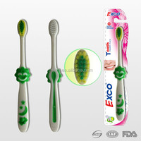 Soft nylon bristle feature kids toothbrush, small head kids toothbrush, toothbrush