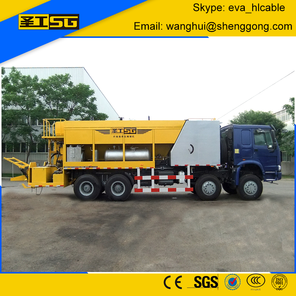Micro Surfacing Truck, Slurry Sealing Machine