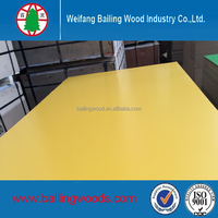 2016 hot sale melamine laminated mdf board/melamine coated mdf