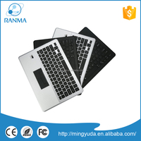 Ultra-thin flip stand cover wireless bluetooth keyboard aluminum case