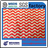 Viscose polyester mesh dyed printed spunlace nonwoven fabric for cleaning rags and wiping rags(wipers)
