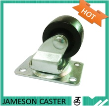 1 inch caster fixed polyurethane