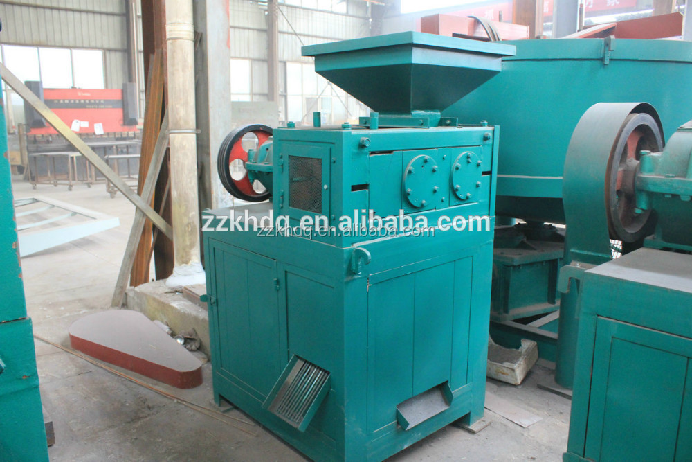 Mill scale, iron powder, fluorite powder briquette making machine with competitive price