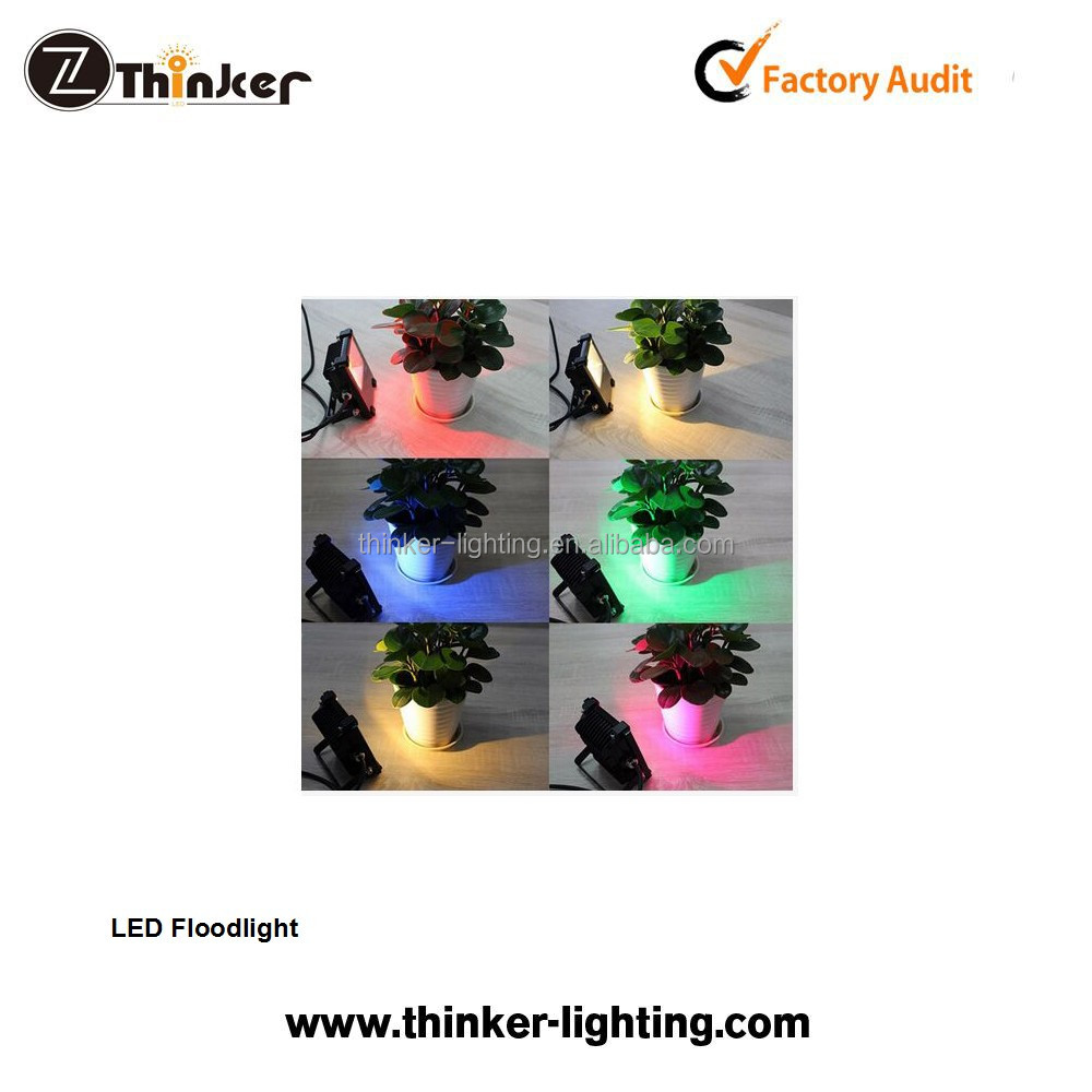 LED flood light 90W RGB+100W warmwhite RGBW LED flood light for decorative lighting projects