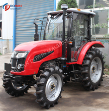 2017 Hot sale automatic 60 hp farm tractor with CE certification