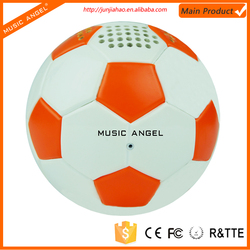 2016 new product football small speaker with bluetooth