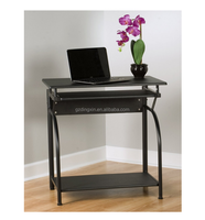 comfort products low price slim computer desk with pullout keyboard