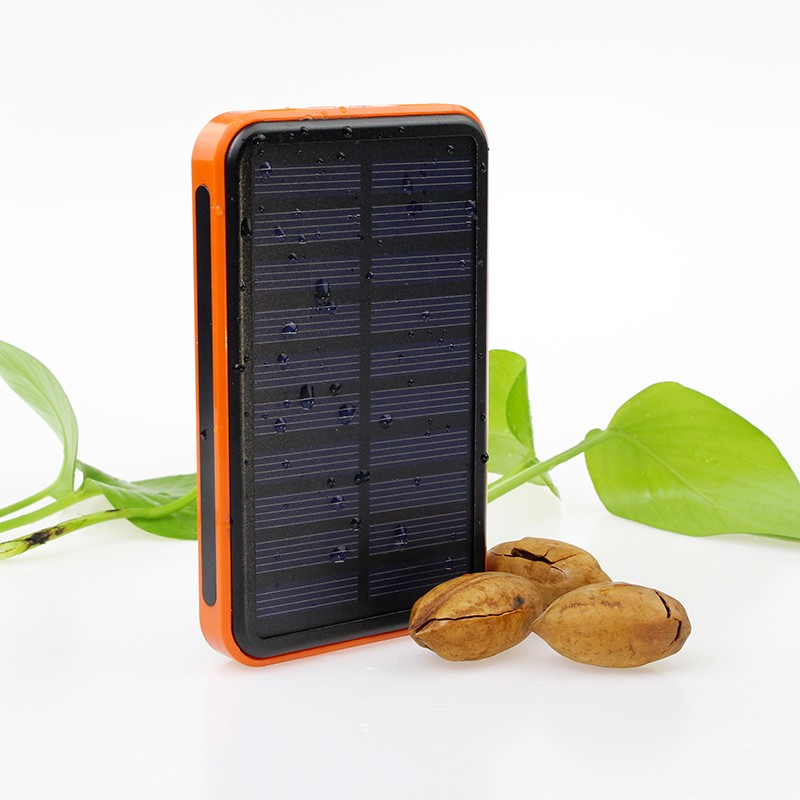 Solar Power Bank with External Battery 10000mah,Solar Power Bank Charger 8000Mah
