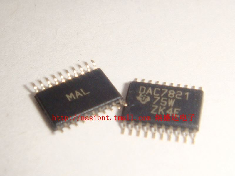 DAC7821IPW 12-bit parallel input multiplying DAC--NSDQW3 IC Electronic Component