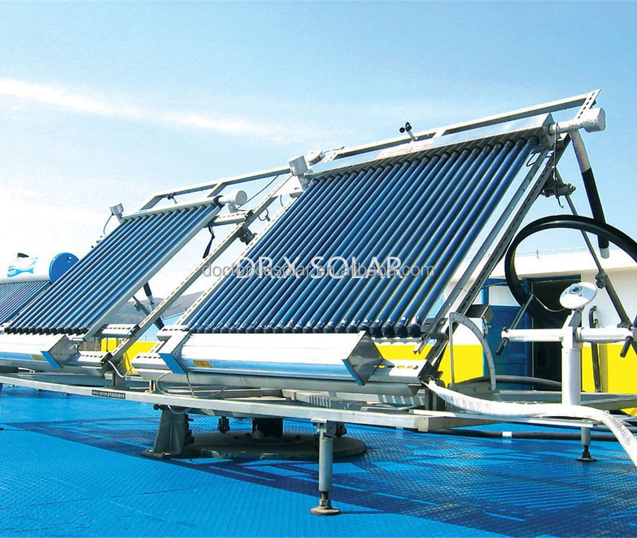 Parabolic Trough Solar Heat Collector for Industrial and Residential Buildings